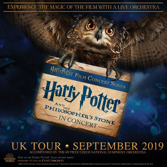 Harry Potter a kámen mudrců UK Tour