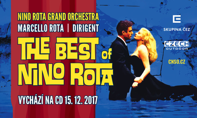 Live on Prague Proms - The Best of Nino Rota, právě vychází na CD