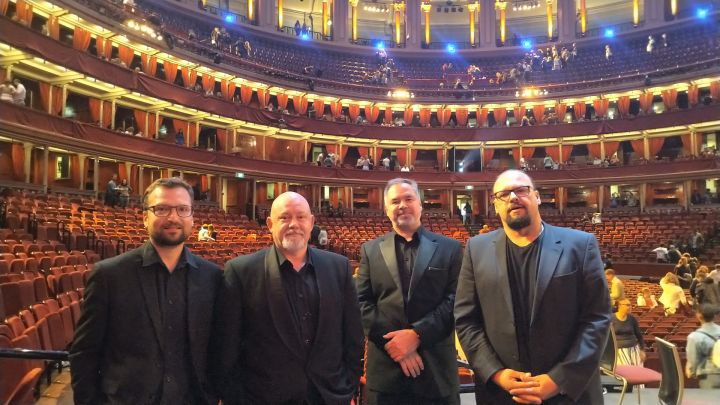 Jan Vítek, Jan Hasenöhrl, Dušan Mihely, Lukáš Chejn | Royal Albert Hall